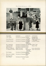 Page 16, 1935 Edition, Walnut Hills High School - Remembrancer Yearbook (Cincinnati, OH) online yearbook collection