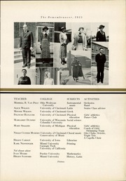 Page 17, 1935 Edition, Walnut Hills High School - Remembrancer Yearbook (Cincinnati, OH) online yearbook collection