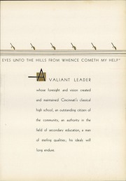 Page 9, 1935 Edition, Walnut Hills High School - Remembrancer Yearbook (Cincinnati, OH) online yearbook collection