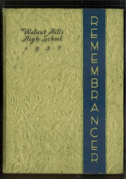Page 1, 1937 Edition, Walnut Hills High School - Remembrancer Yearbook (Cincinnati, OH) online yearbook collection