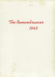 Page 5, 1943 Edition, Walnut Hills High School - Remembrancer Yearbook (Cincinnati, OH) online yearbook collection