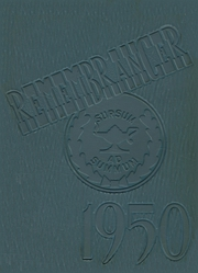 Page 1, 1950 Edition, Walnut Hills High School - Remembrancer Yearbook (Cincinnati, OH) online yearbook collection