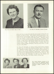Page 15, 1950 Edition, Walnut Hills High School - Remembrancer Yearbook (Cincinnati, OH) online yearbook collection