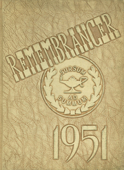 1951 Edition, Walnut Hills High School - Remembrancer Yearbook (Cincinnati, OH)
