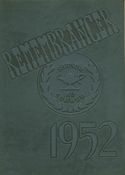 1952 Edition, Walnut Hills High School - Remembrancer Yearbook (Cincinnati, OH)