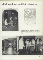 Page 17, 1953 Edition, Walnut Hills High School - Remembrancer Yearbook (Cincinnati, OH) online yearbook collection