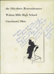 Page 5, 1953 Edition, Walnut Hills High School - Remembrancer Yearbook (Cincinnati, OH) online yearbook collection