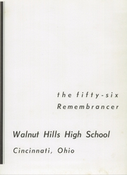 Page 5, 1956 Edition, Walnut Hills High School - Remembrancer Yearbook (Cincinnati, OH) online yearbook collection