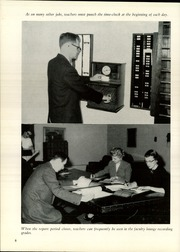 Page 10, 1957 Edition, Walnut Hills High School - Remembrancer Yearbook (Cincinnati, OH) online yearbook collection