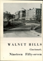 Page 6, 1957 Edition, Walnut Hills High School - Remembrancer Yearbook (Cincinnati, OH) online yearbook collection