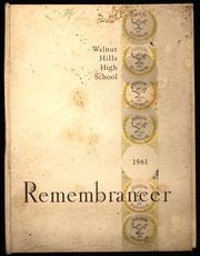 1961 Edition, Walnut Hills High School - Remembrancer Yearbook (Cincinnati, OH)