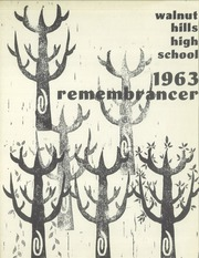 1963 Edition, Walnut Hills High School - Remembrancer Yearbook (Cincinnati, OH)
