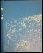 1976 Edition, Walnut Hills High School - Remembrancer Yearbook (Cincinnati, OH)
