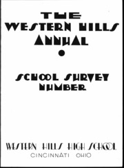 Page 4, 1935 Edition, Western Hills High School - Annual Yearbook (Cincinnati, OH) online yearbook collection