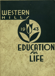 Page 1, 1943 Edition, Western Hills High School - Annual Yearbook (Cincinnati, OH) online yearbook collection