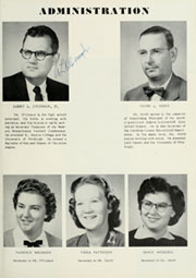 Page 9, 1956 Edition, Adams Township High School - Mirage Yearbook (St Michael, PA) online yearbook collection