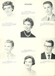 Adams Township High School - Mirage Yearbook (St Michael, PA) online yearbook collection, 1958 Edition, Page 22