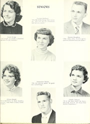 Adams Township High School - Mirage Yearbook (St Michael, PA) online yearbook collection, 1958 Edition, Page 23