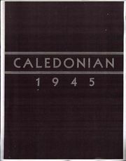 1945 Edition, River Valley High School - Donian Yearbook (Caledonia, OH)