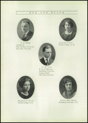 Page 12, 1923 Edition, Fostoria High School - Red and Black Yearbook (Fostoria, OH) online yearbook collection