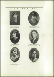 Page 13, 1923 Edition, Fostoria High School - Red and Black Yearbook (Fostoria, OH) online yearbook collection