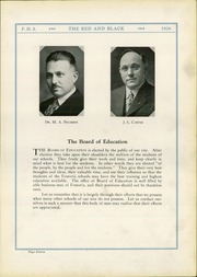 Page 15, 1926 Edition, Fostoria High School - Red and Black Yearbook (Fostoria, OH) online yearbook collection