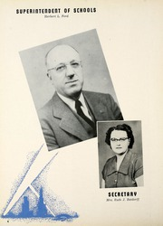 Page 10, 1951 Edition, Fostoria High School - Red and Black Yearbook (Fostoria, OH) online yearbook collection
