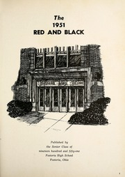 Page 5, 1951 Edition, Fostoria High School - Red and Black Yearbook (Fostoria, OH) online yearbook collection