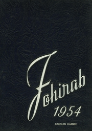 Page 1, 1954 Edition, Fostoria High School - Red and Black Yearbook (Fostoria, OH) online yearbook collection