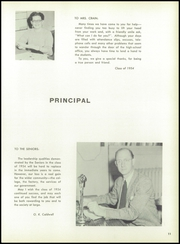 Page 15, 1954 Edition, Fostoria High School - Red and Black Yearbook (Fostoria, OH) online yearbook collection