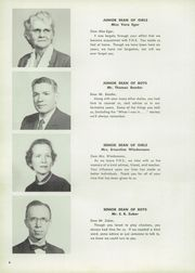 Page 10, 1956 Edition, Fostoria High School - Red and Black Yearbook (Fostoria, OH) online yearbook collection