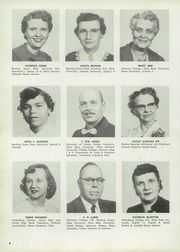 Page 12, 1956 Edition, Fostoria High School - Red and Black Yearbook (Fostoria, OH) online yearbook collection