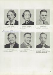 Page 15, 1956 Edition, Fostoria High School - Red and Black Yearbook (Fostoria, OH) online yearbook collection