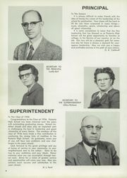 Page 8, 1956 Edition, Fostoria High School - Red and Black Yearbook (Fostoria, OH) online yearbook collection