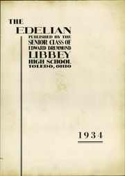 Page 9, 1934 Edition, Edward Drummond Libbey High School - Edelian Yearbook (Toledo, OH) online yearbook collection