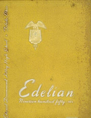 Edward Drummond Libbey High School - Edelian Yearbook (Toledo, OH) online yearbook collection, 1956 Edition, Page 1