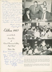 Page 5, 1957 Edition, Edward Drummond Libbey High School - Edelian Yearbook (Toledo, OH) online yearbook collection