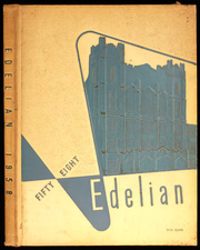 Edward Drummond Libbey High School - Edelian Yearbook (Toledo, OH) online yearbook collection, 1958 Edition, Page 1