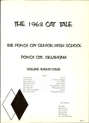 Page 5, 1963 Edition, Ponca City High School - Cat Tale Yearbook (Ponca City, OK) online yearbook collection