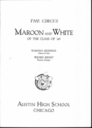 Page 3, 1928 Edition, Austin High School - Maroon and White Yearbook (Chicago, IL) online yearbook collection