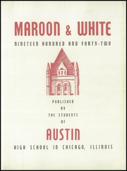 Page 7, 1942 Edition, Austin High School - Maroon and White Yearbook (Chicago, IL) online yearbook collection