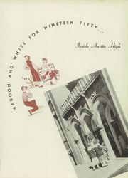 Page 5, 1950 Edition, Austin High School - Maroon and White Yearbook (Chicago, IL) online yearbook collection