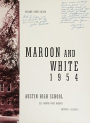 Page 7, 1954 Edition, Austin High School - Maroon and White Yearbook (Chicago, IL) online yearbook collection