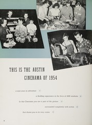 Page 8, 1954 Edition, Austin High School - Maroon and White Yearbook (Chicago, IL) online yearbook collection