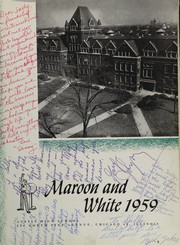 Page 7, 1959 Edition, Austin High School - Maroon and White Yearbook (Chicago, IL) online yearbook collection