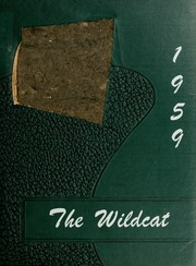 Mulvane High School - Wildcat Yearbook (Mulvane, KS) online yearbook collection, 1959 Edition, Page 1