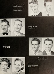 Page 15, 1959 Edition, Mulvane High School - Yearbook (Mulvane, KS) online yearbook collection