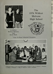 Page 5, 1976 Edition, Mulvane High School - Yearbook (Mulvane, KS) online yearbook collection