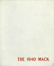 Page 1, 1940 Edition, Hononegah High School - Mack Yearbook (Rockton, IL) online yearbook collection