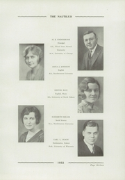 Page 15, 1932 Edition, Libertyville High School - Nautilus Yearbook (Libertyville, IL) online yearbook collection